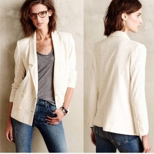 The Addison Story Gypsophila Blazer Anthro